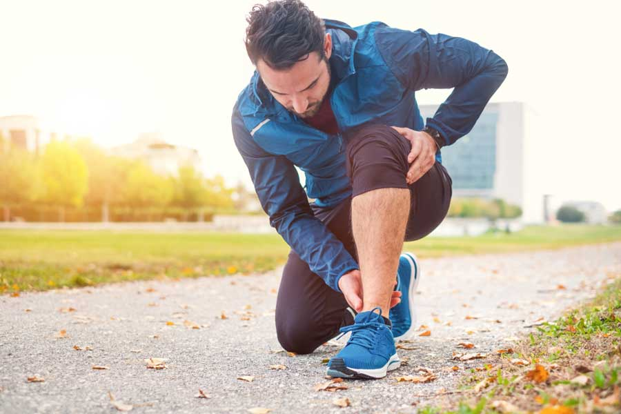 do I need astym treatment – athlete with ankle pain